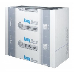 "Пенопласт ""Knauf Therm Wall 25"" 1000x1200x100 мм, 10 шт/уп. Кнауф"